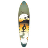 Kicktail Surfer Longboard Deck