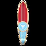 Kicktail Patriot Longboard Deck