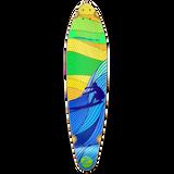 Kicktail Longboard Deck - Surf's up