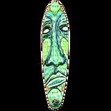 Kicktail Longboard Deck - Countdown