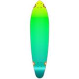 Kicktail Longboard Deck - Gradient Green
