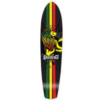 Slimkick Longboard Deck - Rasta