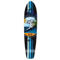 Slimkick Longboard Deck - Wave
