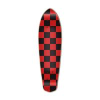 Micro Cruiser  Deck - Checker Red