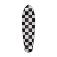 Micro Cruiser  Deck - Checker Silver