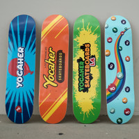 """Yocaher Complete Skateboard 7.75""""  - CANDY Series - Sweet"""