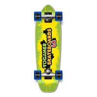 Yocaher Complete Mini Cruiser Skateboard Longboard  - CANDY Series - Sour