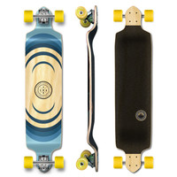 YOCAHER Drop Down Longboard Complete - Earth Series - Ripple