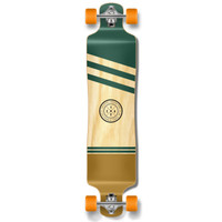YOCAHER Lowrider Longboard Complete - Earth Series - Wind