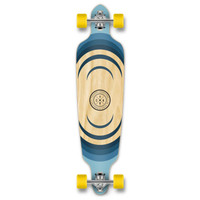 YOCAHER Drop Through Longboard Complete - Earth Series - Ripple