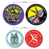Yocaher Sticker Set - A Must have