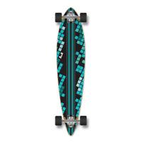 Pintail Black Digital Wave Longboard Complete