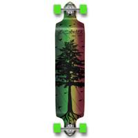 Drop Down Longboard Complete - In the Pines : Rasta