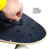 Y-Shaped Skate Tool - Black