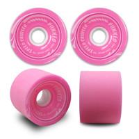 Speed Cruiser 70mm Longboard Wheels - Solid Pink