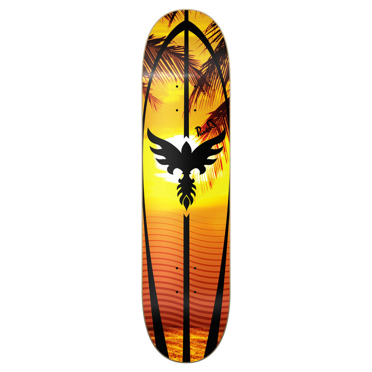 Yocaher Graphic Skateboard Deck - Sunset
