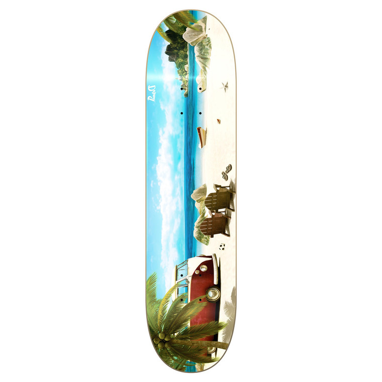 Yocaher Graphic Skateboard Deck - Getaway