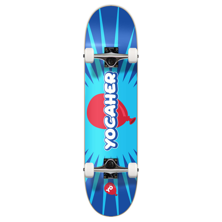 """Yocaher Graphic Complete 7.75"""" Skateboard  - CANDY Series - Pop"""