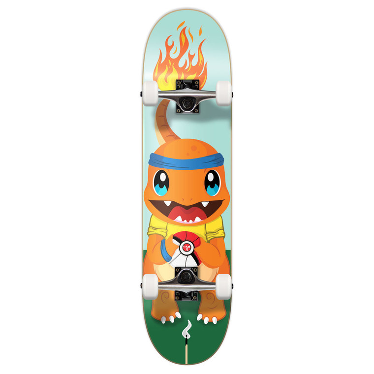"""Yocaher Graphic Complete 7.75"""" Skateboard  - PIKA Series - Charm"""