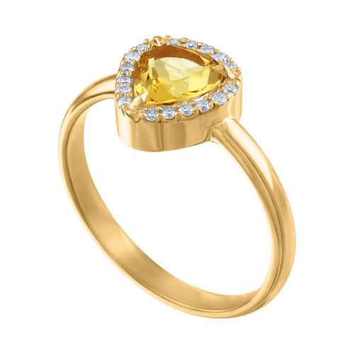 Vivid Yellow Beryl Diamond Anniversary Ring, Diamond Engagement Ring, Yellow Beryl And Diamond Cocktail Ring, One Of A Kind Diamond Ring