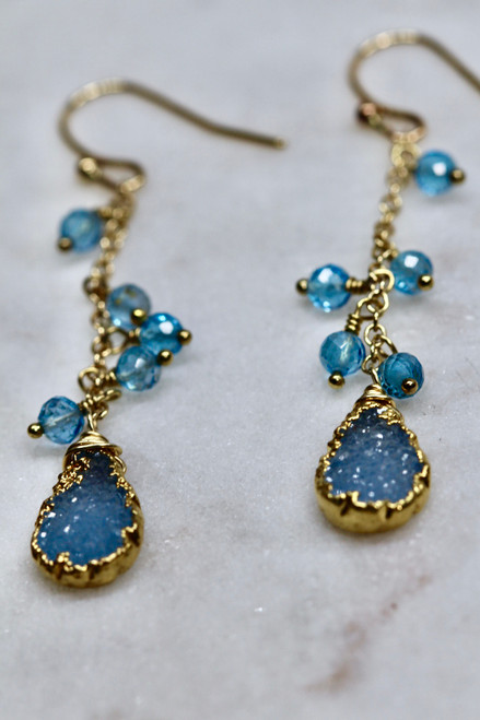 Gorgeous & Unique Druzy Earrings