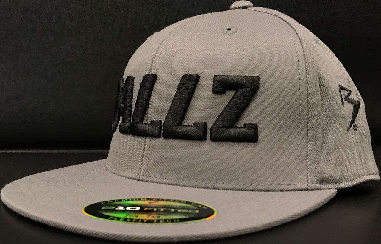 BLACK /& GREY **BRAND NEW /& IN STOCK** BILTWELL B FITTED 210 CAP