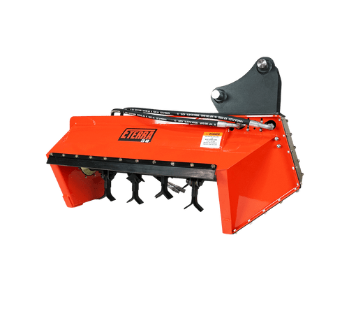 Eterra EX-40 Excavator Flail Mower Attachment White Background