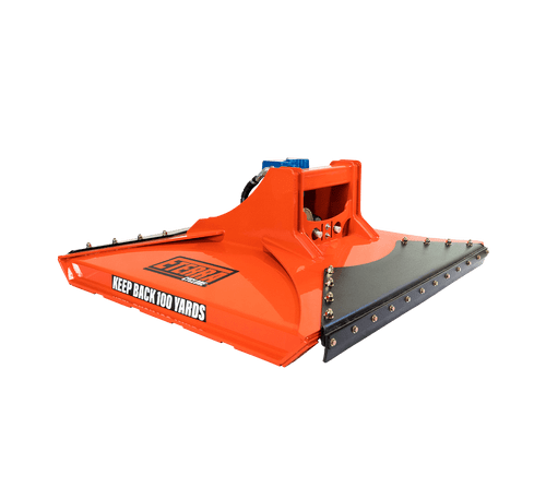 """Eterra Cyclone 48"""" Rotary Brush Mower Attachment for Skid Steers and Excavators"""