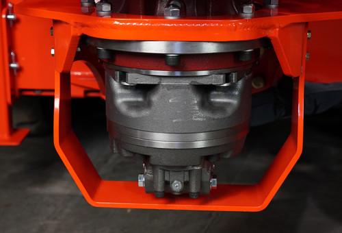 Vortex Skid Steer Stump Grinder drive system
