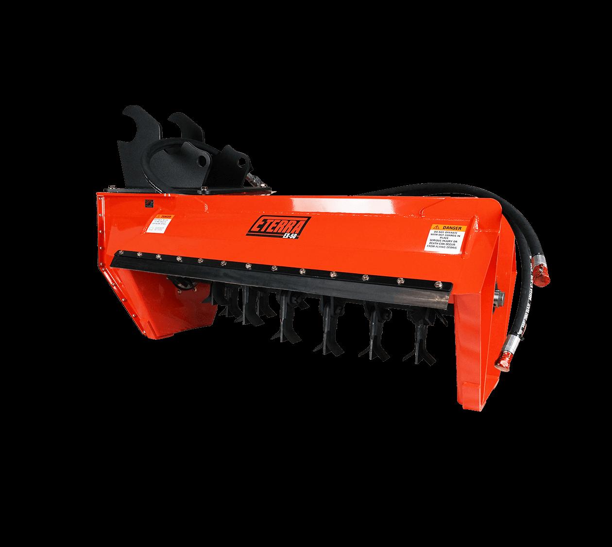 Eterra EX-50 Excavator Flail Mower Attachment Image