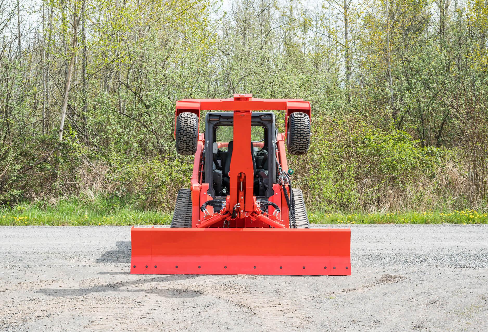 Eterra Dozer Grader Skid Steer Attachment front