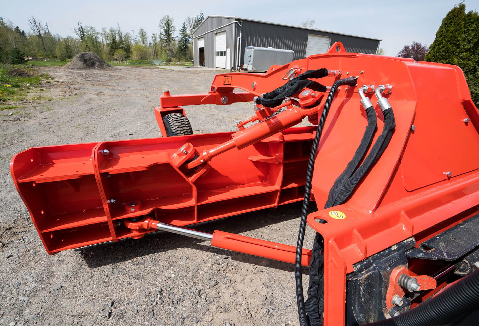 Eterra Dozer Grader Skid Steer Attachment Blade hydraulics