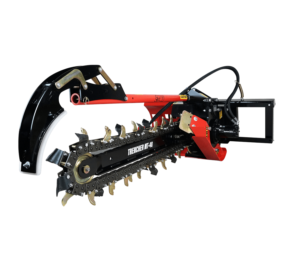 Eterra Skid Steer Trencher Attachment