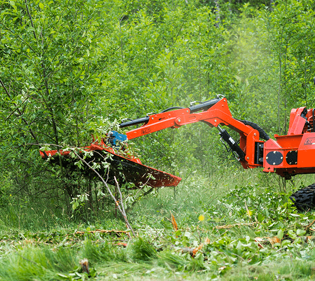 Skid Steer Excavators Land Clearing Attachments Eterra