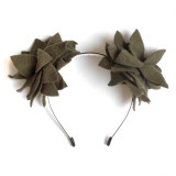 Grape Vine Olive Flower Ears