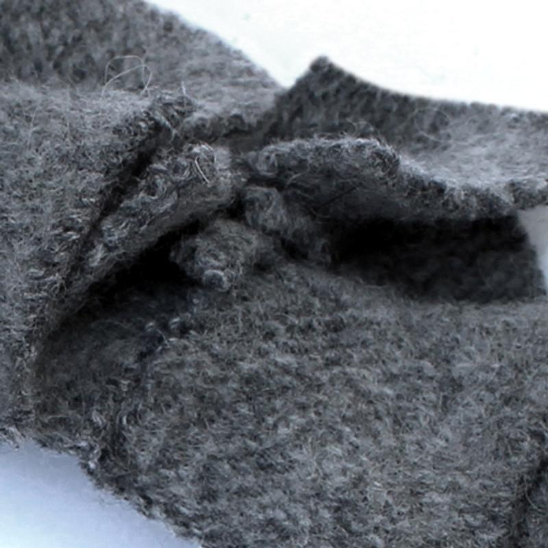 Soft wool.