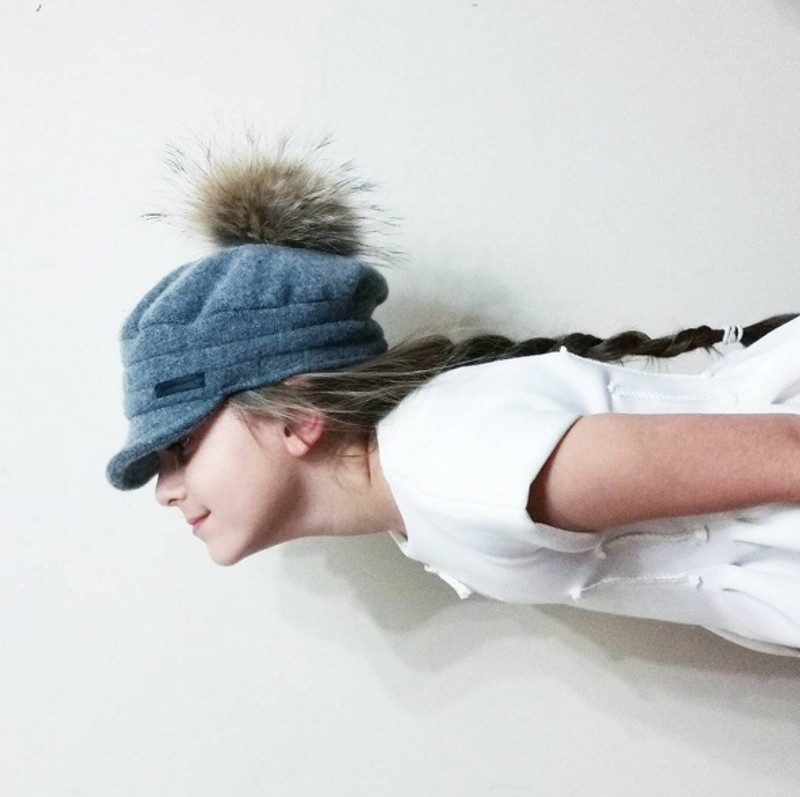 Newsboy Hat Grey