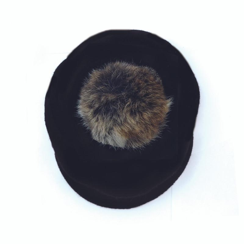 Newsboy Hat Black