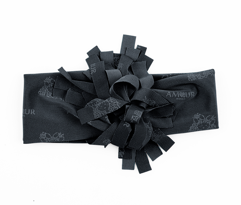 Fringe Band Charcoal Grey