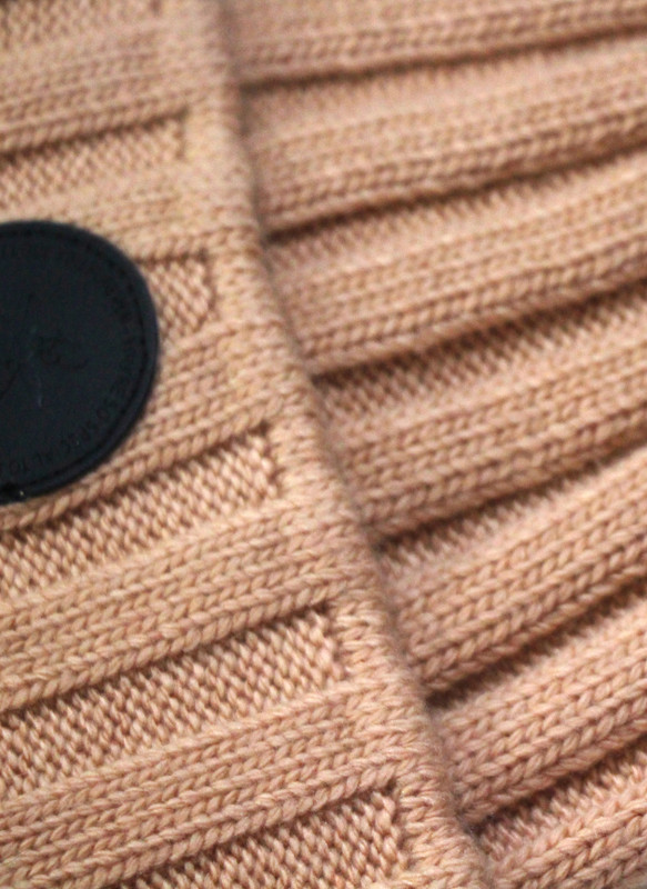 Winter Warm Ribbed Knit Beanie wool Hat is machine washable cold water / Do not bleach / Line dry.