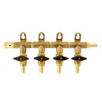 4 Way Co2 Manifold