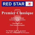 Red Star Premier Classique Yeast 5g (Montrachet)
