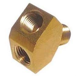 Co2 Regulator Y Splitter - Brass