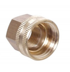 Brass Hose - Female Hose x 1/2'' FPT Swivel