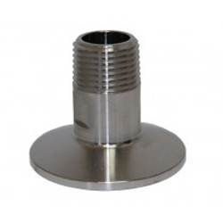 """1.5"""" Tri-Clamp Fitting by 1"""" Male NPT"""