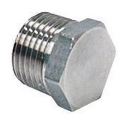 "1/2"" NPT  Kettle Hex Plug (SS)"