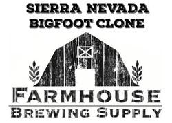 Sierra Nevada Bigfoot Clone Kit (All Grain)