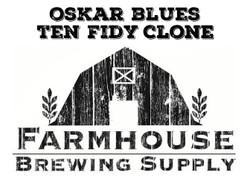 Oskar Blues Ten Fidy Clone Kit (All Grain)