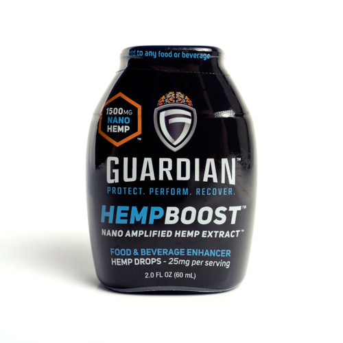 Guardian HempBoost Food and Beverage Drops Front