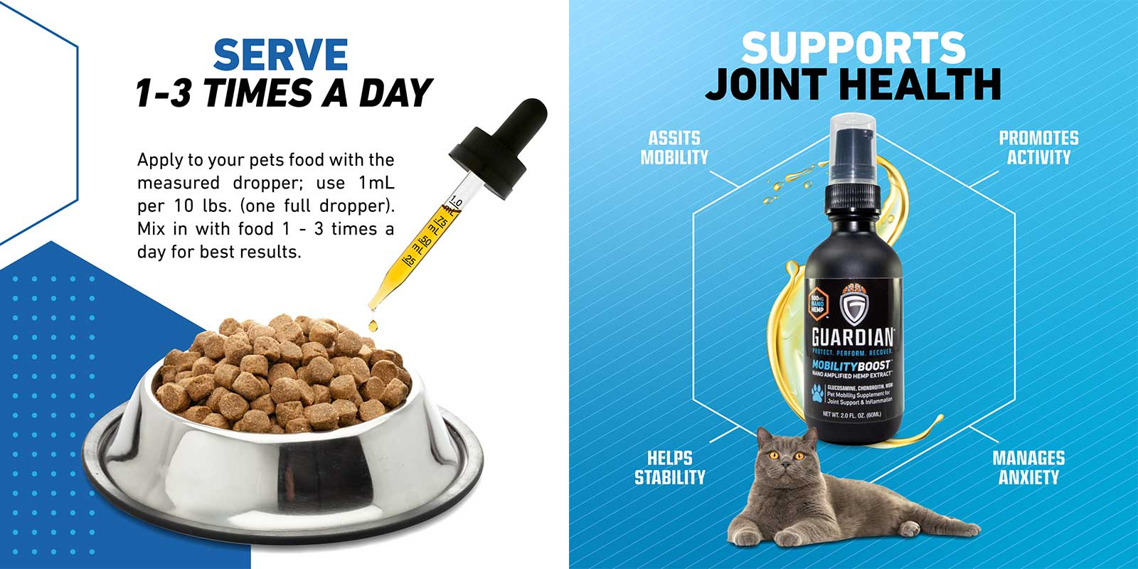 Serve 1 - 3 Times a Day; supports joint health
